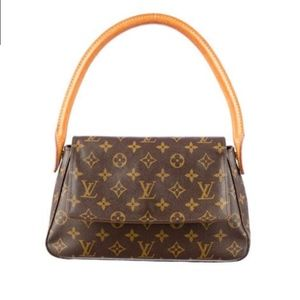 Authentic Louis Vuitton Looping Bag